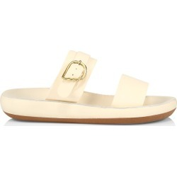 Ancient Greek Sandals Women's Preveza Leather Flatform Sandals - Off White - Size 8 found on MODAPINS from Saks Fifth Avenue for USD $240.00