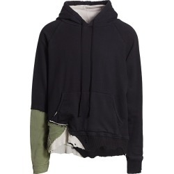 Greg Lauren Men's Fragment Hoodie - Black - Size Large found on MODAPINS from Saks Fifth Avenue for USD $1000.00