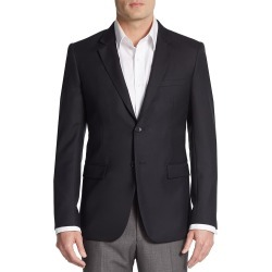 Theory Men's Regular-Fit Xylo NP Wool Suit Separates Sportcoat - Black - Size 38 S found on Bargain Bro India from Saks Fifth Avenue OFF 5TH for $249.99