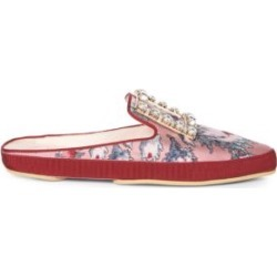 Lounge Strass Floral-Print Mules found on Bargain Bro India from Saks Fifth Avenue Canada for $1344.71