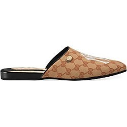 Gucci Women's Original GG Slipper With NY Yankees™ Patch - Beige - Size 35 (5) found on MODAPINS from Saks Fifth Avenue for USD $950.00