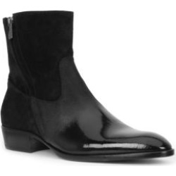 Risoli Suede and Patent Leather Boots found on Bargain Bro from Saks Fifth Avenue UK for £548