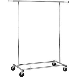 Honey-Can-Do Collapsible Chrome Garment Rack