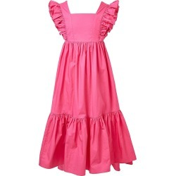 Bardot Junior Girl's Tiered Maxi Frill Dress - Fuchsia - Size 7 found on Bargain Bro from Saks Fifth Avenue for USD $68.40