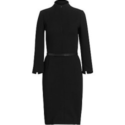 Akris Women's Belted Sheath Dress - Black - Size 2 found on MODAPINS from Saks Fifth Avenue for USD $2590.00