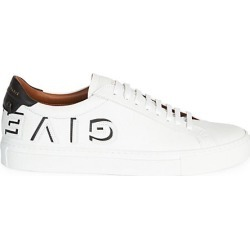 Givenchy Men's Urban Street Logo Low-Top Sneakers - White Black - Size 45 (12) found on MODAPINS from Saks Fifth Avenue for USD $695.00