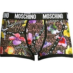 Moschino Harness & Flower Graphic Briefs - Brown Mult - Size S found on Bargain Bro Philippines from Saks Fifth Avenue for $47.50