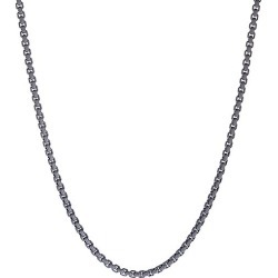 David Yurman Men's Chain Box-Link Necklace - Grey found on MODAPINS from Saks Fifth Avenue for USD $335.00