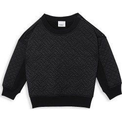 Burberry Little Boy's & Boy's Timothie Sweatshirt - Black - Size 12 found on Bargain Bro from Saks Fifth Avenue for USD $182.40
