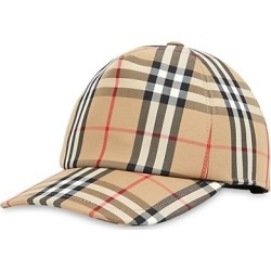 Vintage Check Baseball Cap found on Bargain Bro India from Saks Fifth Avenue Canada for $369.96