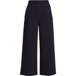 Chevron Stripe Jersey Cropped Wide-Leg Pants found on Bargain Bro Philippines from Saks Fifth Avenue AU for $632.71