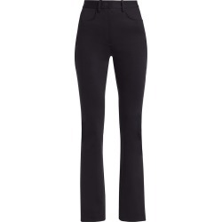 Alexander Wang Women's Mid-Rise Flare Trousers - Black - Size 4 found on MODAPINS from Saks Fifth Avenue for USD $550.00