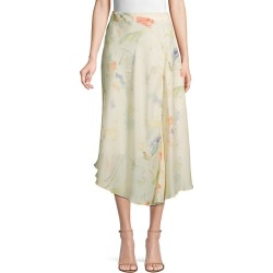 Dessie Printed Silk Midi Skirt found on Bargain Bro India from Saks Fifth Avenue OFF 5TH for $199.99