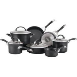 Symmetry 11-Piece Hard Anodized Cookware Set