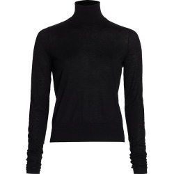 Co Women's Essentials Cashmere Turtleneck - Black - Size Medium found on MODAPINS from Saks Fifth Avenue for USD $525.00