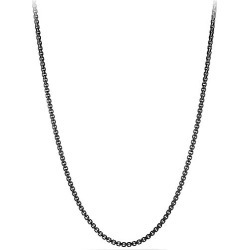 David Yurman Men's Chain Stainless Steel Box Necklace - Stainless Steel - Size 26 IN found on MODAPINS from Saks Fifth Avenue for USD $350.00