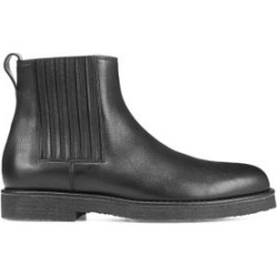 Carmine Leather Chelsea Boots found on MODAPINS from Saks Fifth Avenue AU for USD $424.34