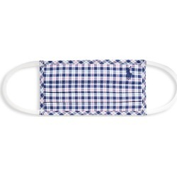 Polo Ralph Lauren Men's Checkered Silk Face Mask - Navy - Size Medium/Large found on Bargain Bro India from Saks Fifth Avenue for $20.00