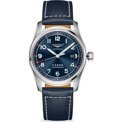 Longines Spirit Longines Spirit Stainless Steel & Leather-Strap Watch found on MODAPINS from Saks Fifth Avenue Canada for USD $2354.08