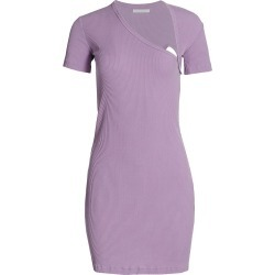 John Elliott Women's Asymmetric T-Shirt Dress - Purple - Size Small found on Bargain Bro India from Saks Fifth Avenue for $228.00