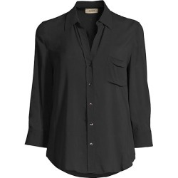 L'Agence Women's Ryan Three-Quarter Sleeve Blouse - Black - Size XS found on Bargain Bro India from Saks Fifth Avenue for $250.00