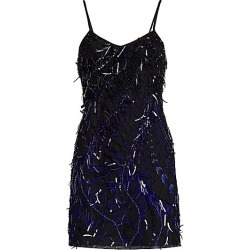 Alberta Ferretti Women's Embellished Mini Cocktail Dress - Size 40 (4) found on MODAPINS from Saks Fifth Avenue for USD $2150.00
