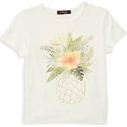 Imoga Little Girl's & Girl's Pineapple Print Tee - Pineapple - Size 10