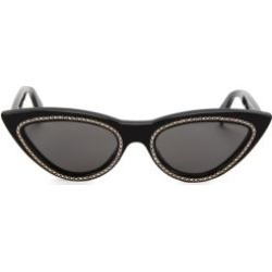 56MM Crystal-Studded Cat Eye Sunglasses found on Bargain Bro UK from Saks Fifth Avenue UK