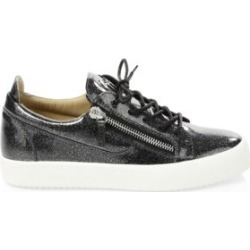Glitter Patent Leather Sneakers found on Bargain Bro from Saks Fifth Avenue UK for £284