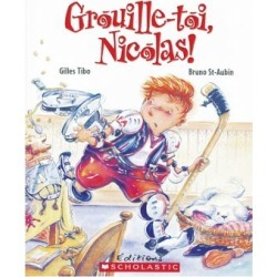 Where's My Hockey Sweater Book - French Version