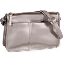 Multi-Pocket Leather Shoulder Bag found on GamingScroll.com from The Bay for $340.00