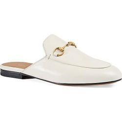 Gucci Women's Princetown Leather Slipper - White - Size 38 (8) found on MODAPINS from Saks Fifth Avenue for USD $750.00