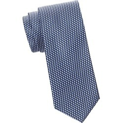 Brioni Men's Multi Graphic Silk Tie - Light Blue Navy found on MODAPINS from Saks Fifth Avenue for USD $240.00