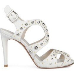 Baldwin Stud Stiletto Heel Leather Sandals found on MODAPINS from Lord & Taylor for USD $150.00