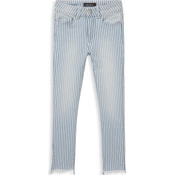 DL1961 Premium Denim Girl's Chloe Stripe Distressed Skinny Jeans - Faded Blue - Size 12 found on Bargain Bro India from Saks Fifth Avenue for $69.00