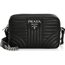 Prada Women's Small Diagramme Leather Camera Bag - Black found on Bargain Bro India from Saks Fifth Avenue for $1250.00