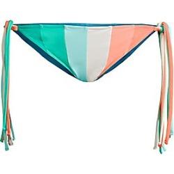 PAPER London Women's Triangle Side-Tie Stripe Bikini Bottoms - Bahama Mama Multi - Size Small found on MODAPINS from Saks Fifth Avenue for USD $130.00