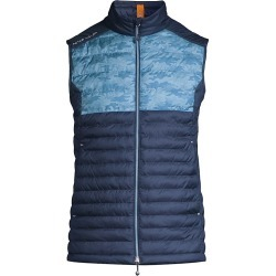 Peter Millar Men's Colorblocked Hyperlight Quilted Vest - Navy - Size Large found on Bargain Bro from Saks Fifth Avenue for USD $127.68