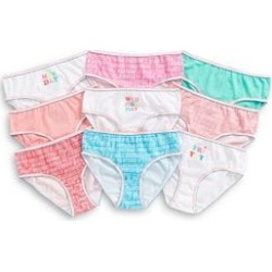 Girls 9-Pack Mix Print Briefs found on Bargain Bro India from The Bay for $18.75