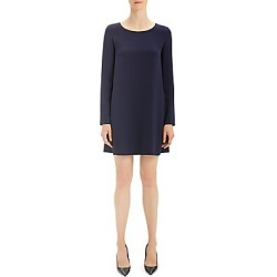 Theory Women's Long Sleeve Paneled Shift Dress - Deep Royal - Size Large found on Bargain Bro India from LinkShare USA for $395.00