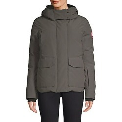 Canada Goose Women's Blakely Hooded Parka - Graphite - Size Large found on Bargain Bro India from Saks Fifth Avenue for $775.00