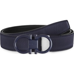 Double Buckle Reversible Leather Belt found on Bargain Bro UK from Saks Fifth Avenue UK