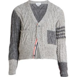 Cable-Knit Two-Toned Wool Cardigan found on Bargain Bro India from Saks Fifth Avenue AU for $471.45
