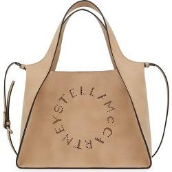 Stella McCartney Women's Stella Logo Tote - Camel