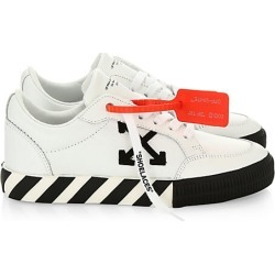 Off-White Women's Arrow Low-Top Leather Sneakers - White - Size 42 (12) found on MODAPINS from Saks Fifth Avenue for USD $290.50