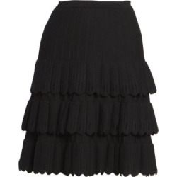 Scallop-Trim Wool-Blend Knit A-Line Skirt found on Bargain Bro India from Saks Fifth Avenue Canada for $3063.24