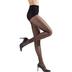 Natori Women's Silky Sheer Tights - Black - Size XL