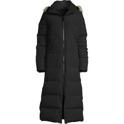 Canada Goose Women's Mystique Fur-Trim Long Down Parka - Black - Size XS found on MODAPINS from Saks Fifth Avenue for USD $1195.00
