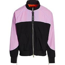 Daniel Patrick Men's Colorblock Bomber Jacket - Purple Haze - Size Large found on MODAPINS from Saks Fifth Avenue for USD $260.00