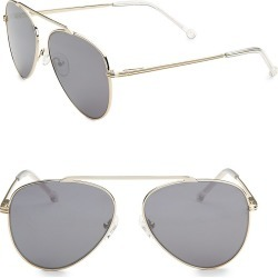 Colors in Optics Cosmic Single Brow Bar Aviators found on Bargain Bro Philippines from Saks Fifth Avenue for $165.00